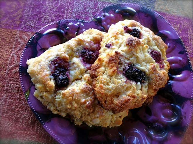 gluten free berry scones