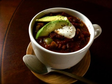 Moroccan Black Bean Chili