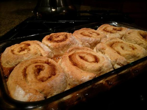 Gluten-free Baked Cinnamon Rolls