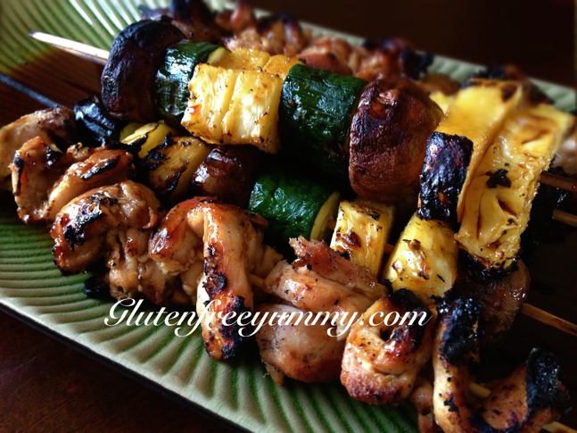 Coconut chicken skewers covered in a spicy sweet & sour sauce make these skewers unforgettable!