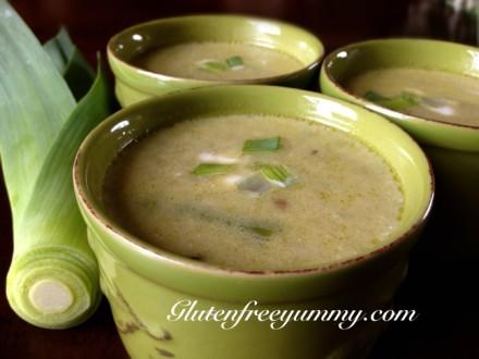 Leek & Asparagus Spring Soup