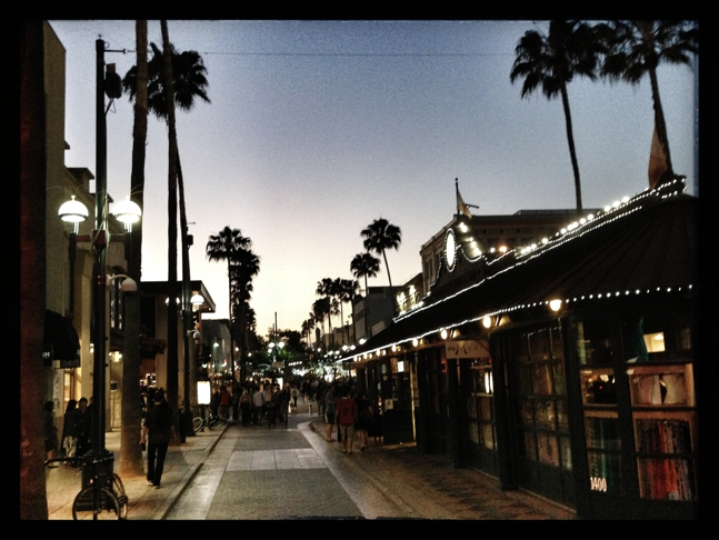 The Promenade in Santa Monica