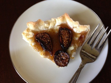 Gluten-Free Fig and Wild Honey Tart
