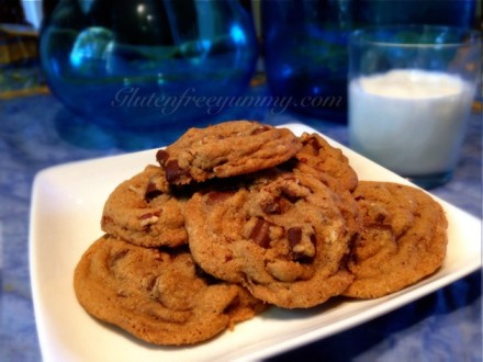 gluten & diary-free Chocolate Chip Cookies