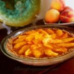 Gluten-free Peach Tart