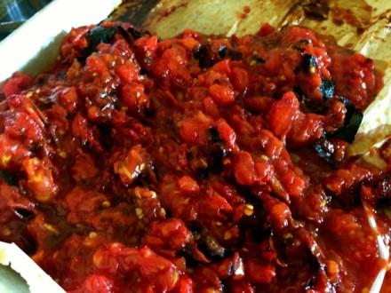 Chopped Charred Tomatoes