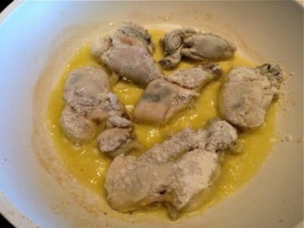 Frying Gluten-free Oysters