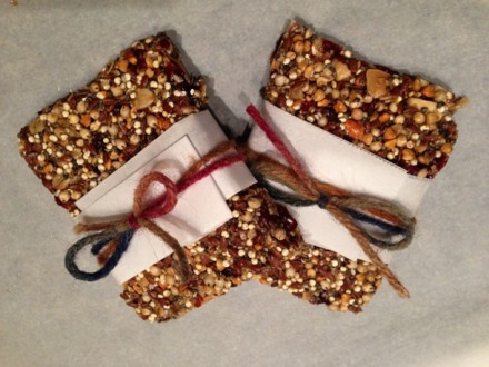 Almond-Cranberry Super Grain Bars (gluten-dairy-free)