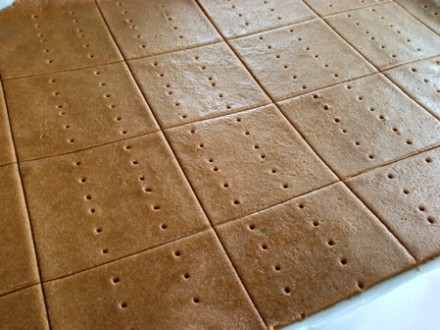 Rolled out Gluten-free Graham Crackers