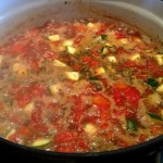 Cooking up a Pot of Hearty Vegetable Beef Soup
