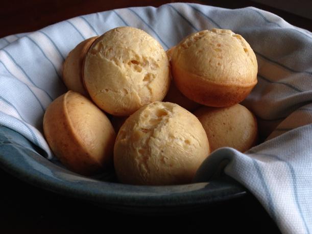 Gluten-free Brazilian Cheese Rolls