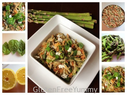 Gluten-free Orzo with Asparagus & Lemon Zest