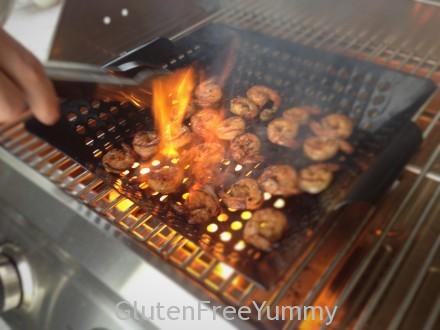 Fire-Roasted Jamaican Rum Shrimp