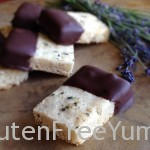 Honey-Lavender Shortbread (gluten-free)