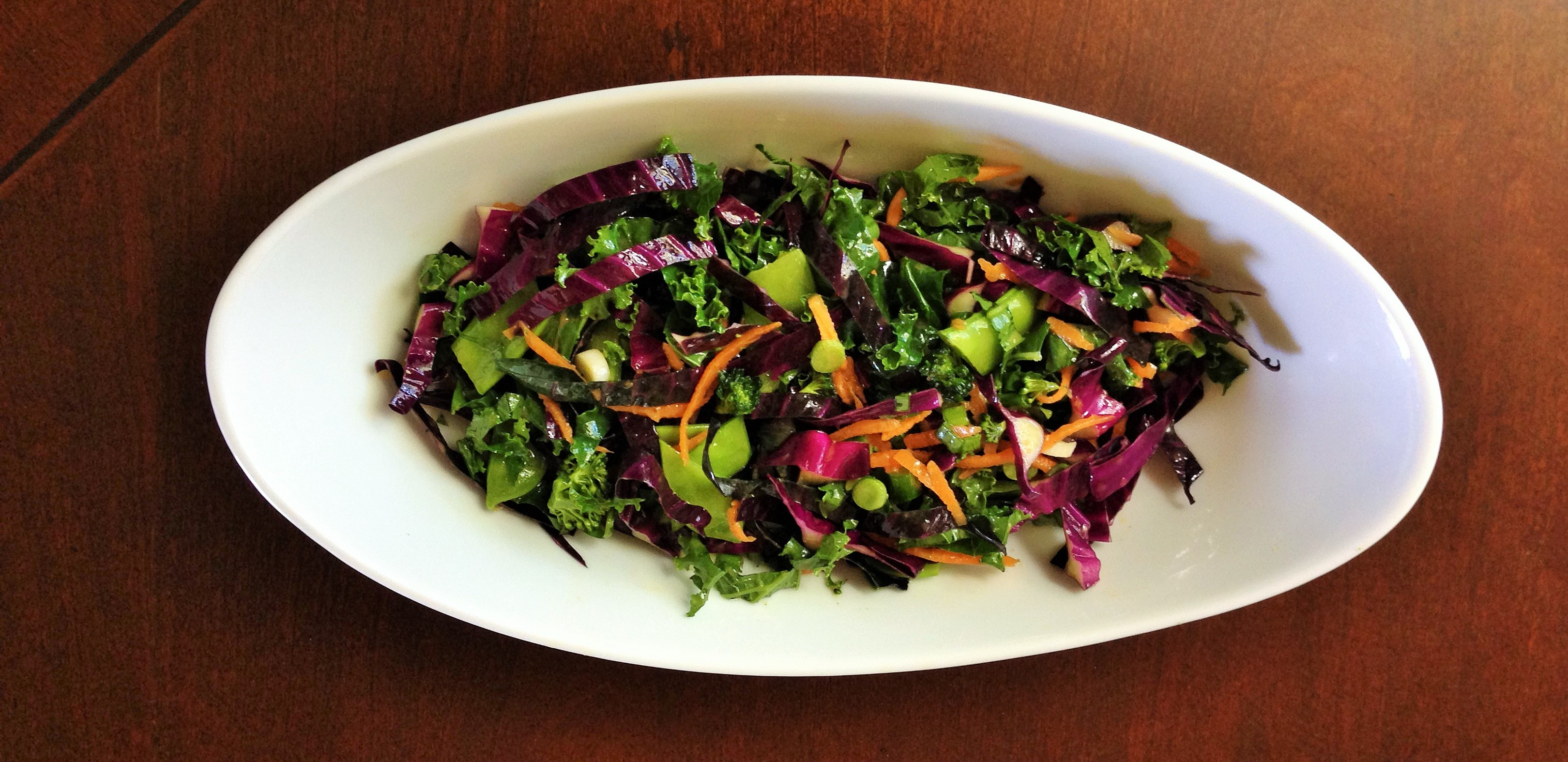 Healthy Chopped Salad with Citrus Vinaigrette