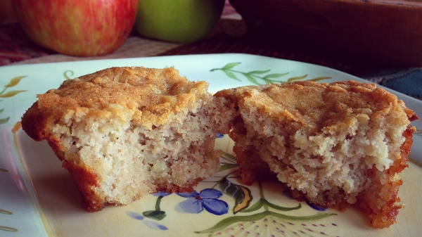 Apple Pie Muffin Paleo, GF, DF