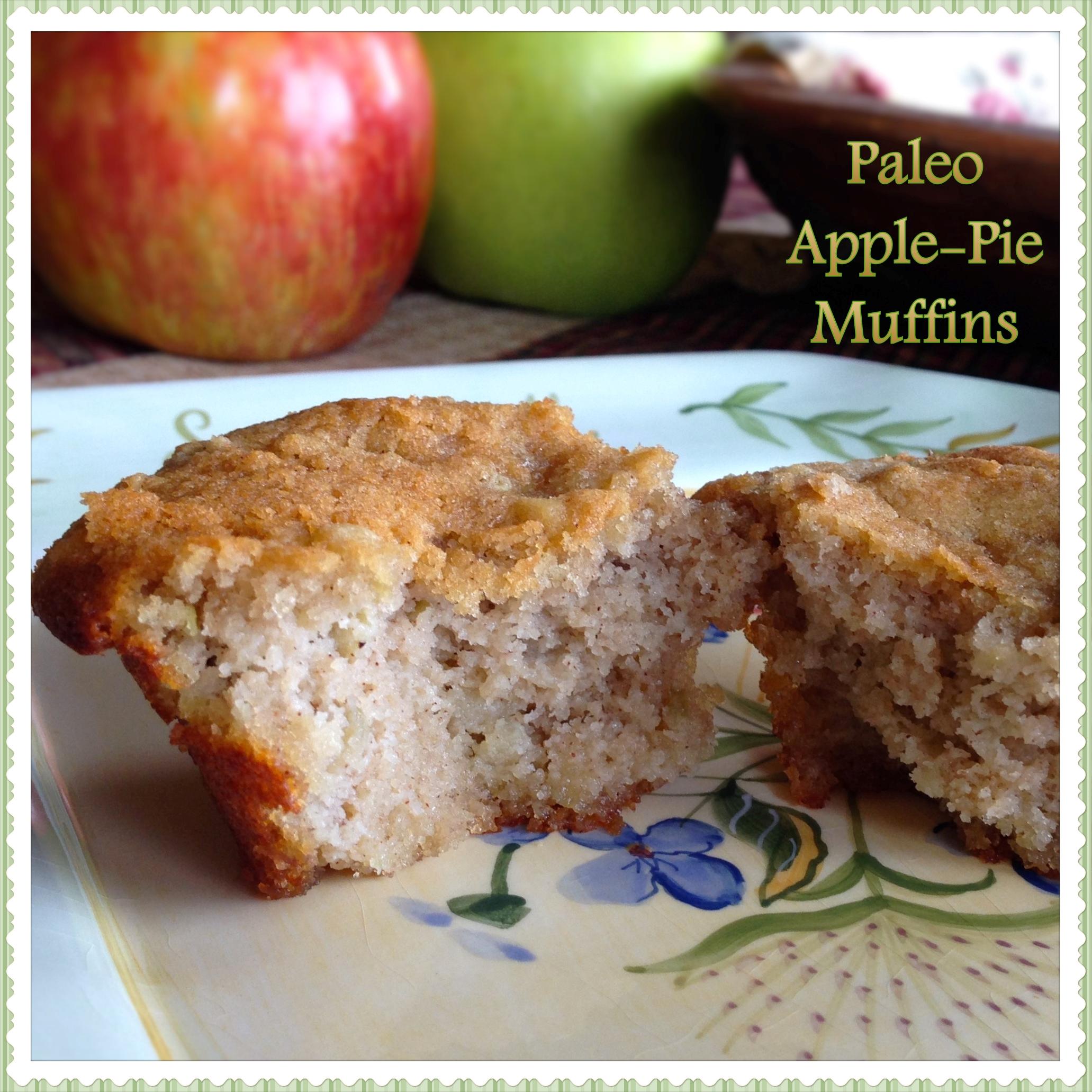 Paleo Apple Pie Muffins - Gluten Free Yummy!