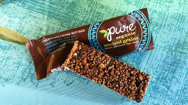 Pure Organic Chocolate Chunk Ancient Grains Bar