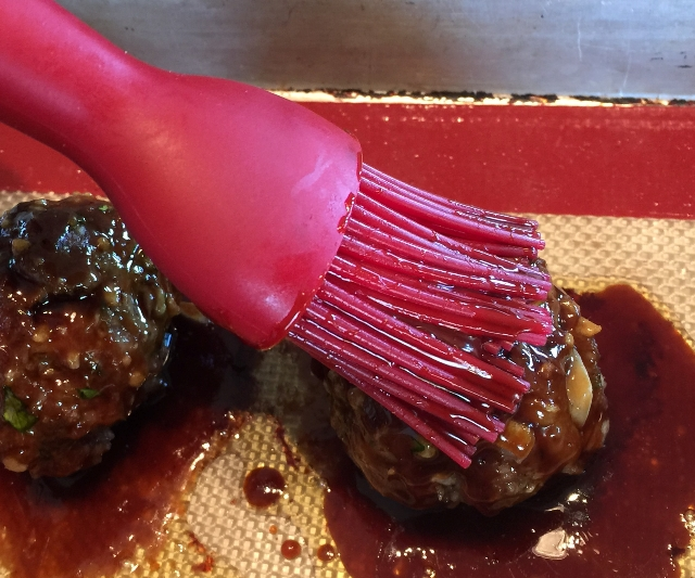 Coating honey-Teriyaki Meatballs