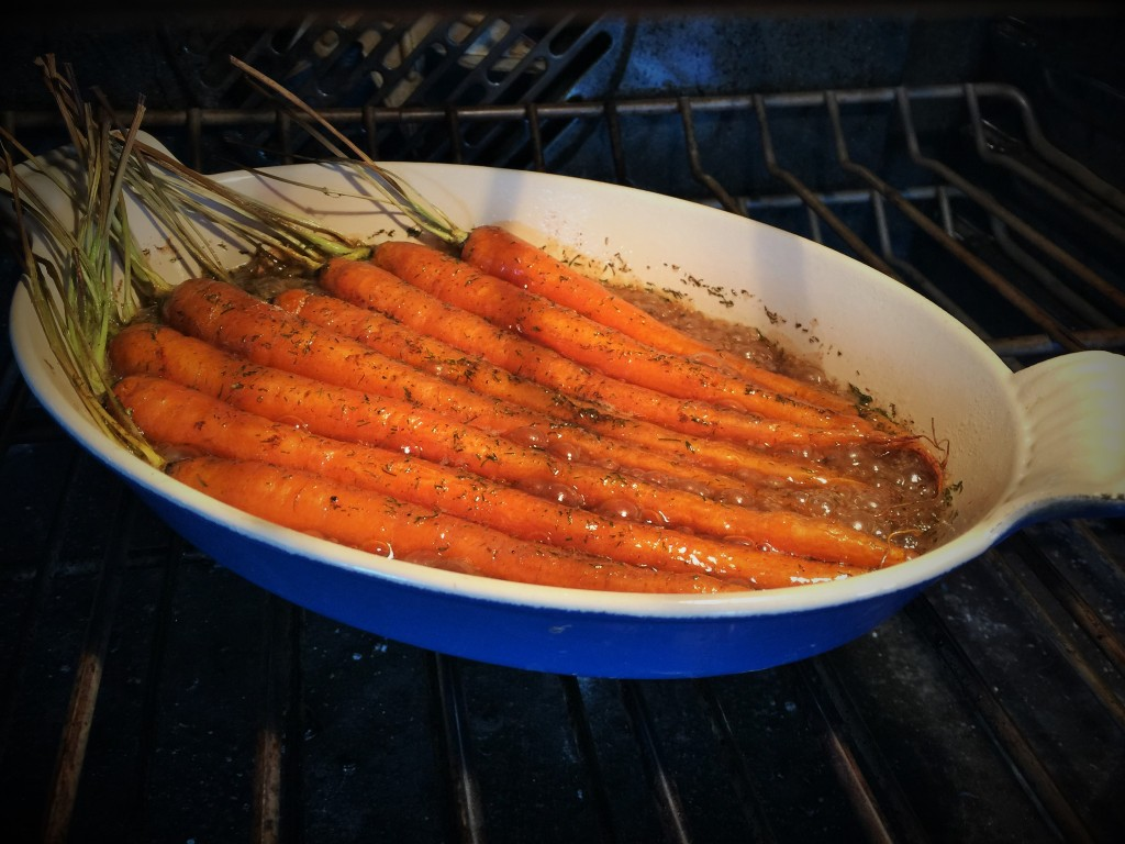 Carrots in a Maple Glaze
