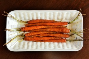 Cumin & Dill Maple-glazed Carrots