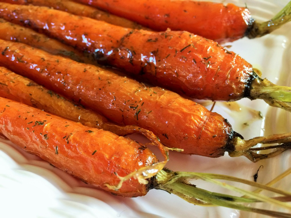 carrots glazed carrots maple glazed carrots with dill recipes dishmaps ...