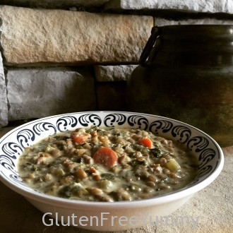 Sweet Italian Sausage Lentil Stew