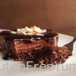 Bite of Chocolate Faux Cheesecake