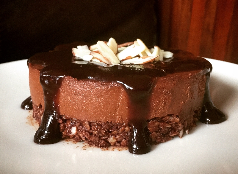 Chocolate Faux Cheesecake