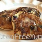 Grain-free Blueberry Banana Pancakes