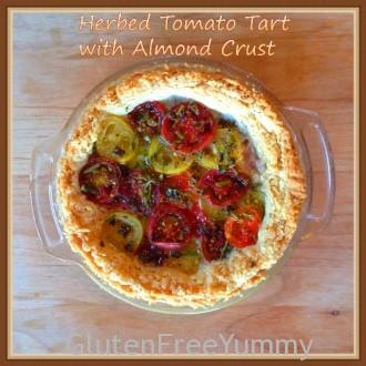 Gluten-free Heirloom Tomato Tart