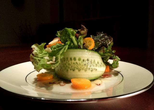 Kumquat Cucumber Salad