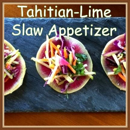 Tahitian Lime Slaw App
