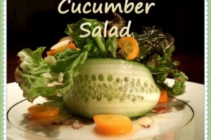 Kumquat Cucumber Salad