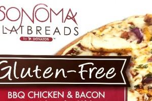 GF BBQ Chicken & Bacon Pizza