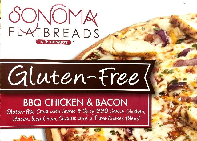 Gluten-free BBQ Chicken & Bacon Pizza