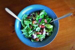 Roasted Chicken & Watermelon Salad