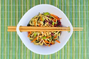 Thai Peanut Zoodle Salad
