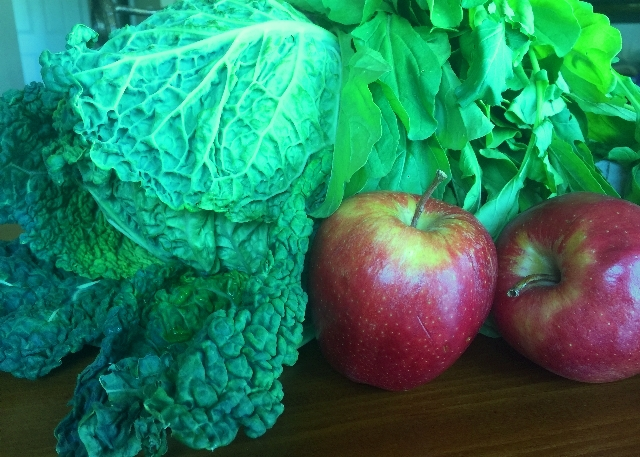 The Makings of a Savoy Cabbage Salad