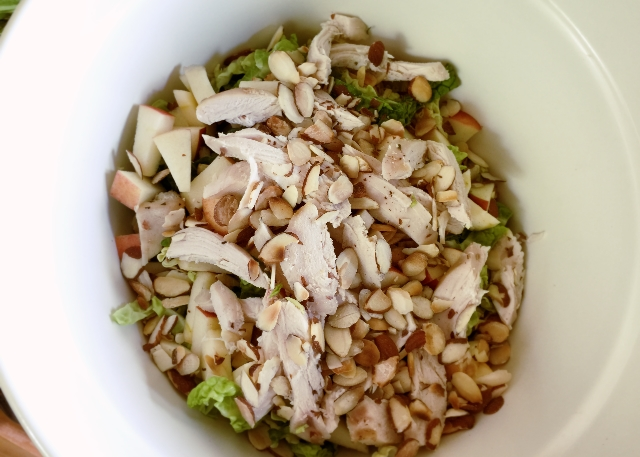 Makings of a Savoy Cabbage Salad