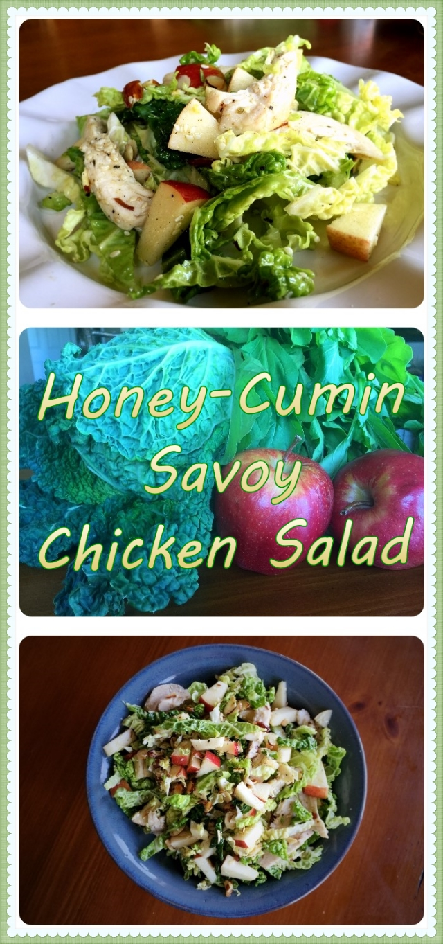 Honey-Cumin Savoy Chicken Salad Pin