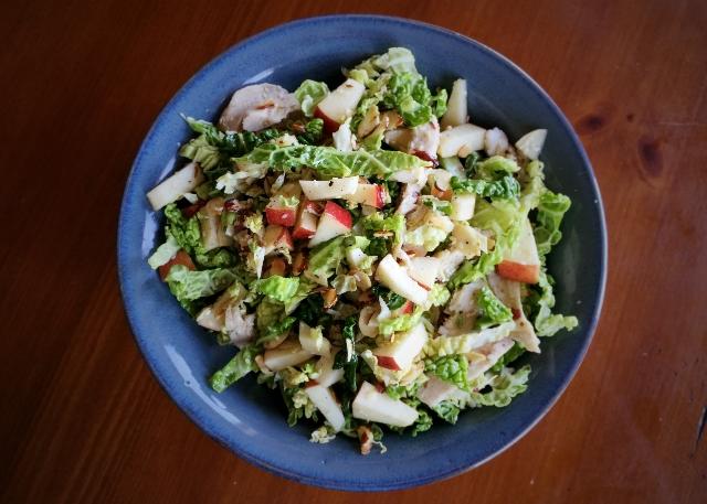 Honey-Cumin Savoy Chicken Salad