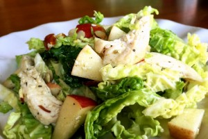 Savoy Cabbage Salad with Honey Cumin Dressing