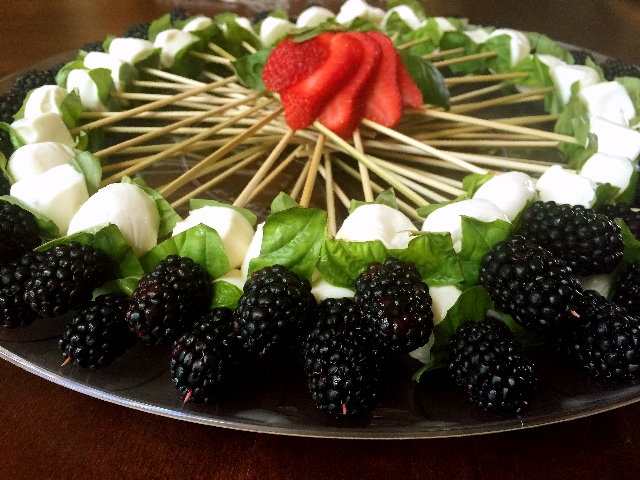 Blackberry Appetizer