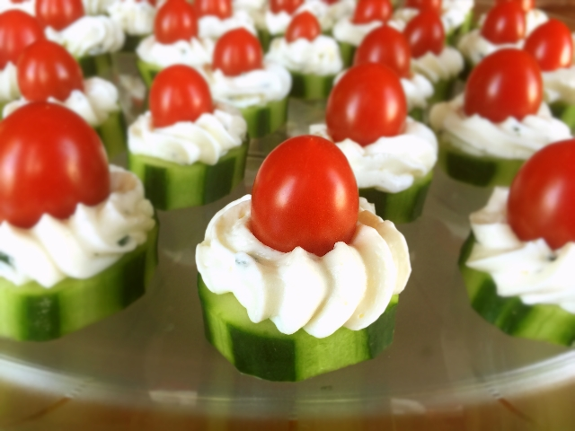 Cucumber & Tomato Appetizer