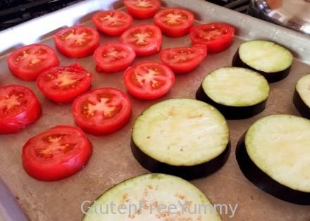 Tomato & Eggplant Slices