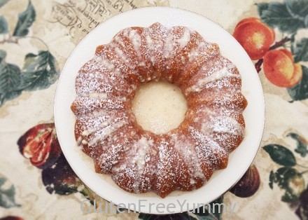 Gluten-free Autumn Spiced Olive Oil Cake