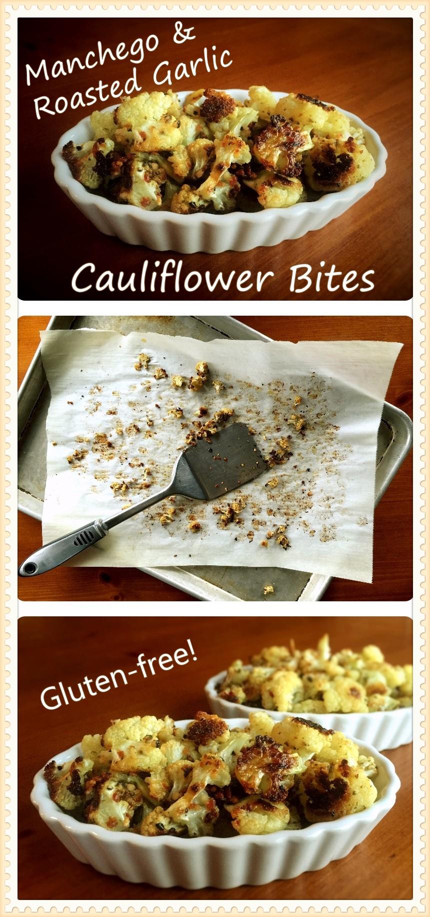 Manchego & Roasted Garlic Cauliflower