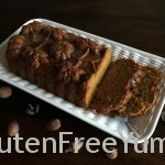 Sliced DF-GF Pumpkin Bread