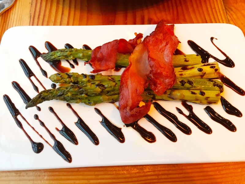 Asparagus, Prosciutto and Aged Balsamic